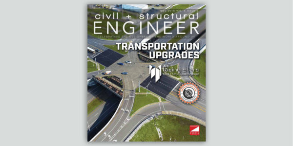 GS&P's Award-Winning KY 237 Project is <em>Civil + Structural Engineer</em>'s<em> </em>May Cover Story