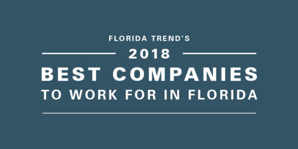 Gresham, Smith and Partners Named A Best Company to Work For in Florida by Florida Trend Magazine