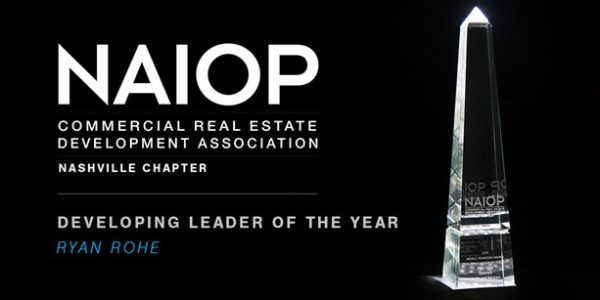 Gresham Smith's Ryan Rohe Named Developing Leader of the Year by NAIOP Nashville Chapter