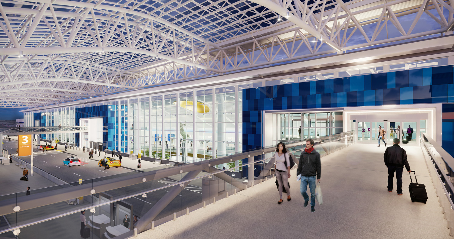 Charlotte Douglas International Airport (CLT) Terminal Lobby Expansion Designed by Gresham Smith