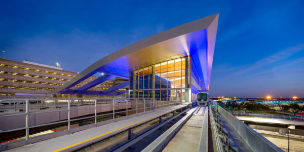Gresham Smith-Designed SkyConnect Automated People Mover and Rental Car Center Receives ACEC Honor Award