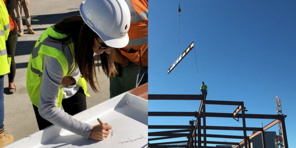 Gresham Smith Celebrates Topping Out At Richmond International Airport