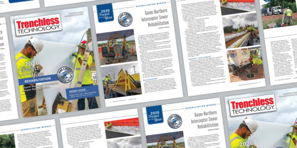 Gresham Smith-Designed Infrastructure Improvements Honored by Trenchless Technology Magazine
